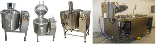 Impianti monoblocco per cuocere, soffrigere e pastorizzare